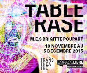 Brigitte Poupart nous convie à un festin d'excès féminins avec Table rase